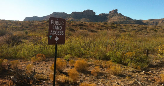 Public land access New Mexico