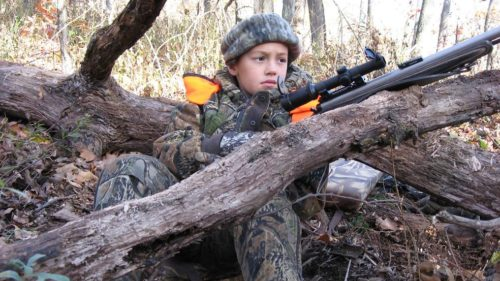 Ben- 1st deer hunt 2007